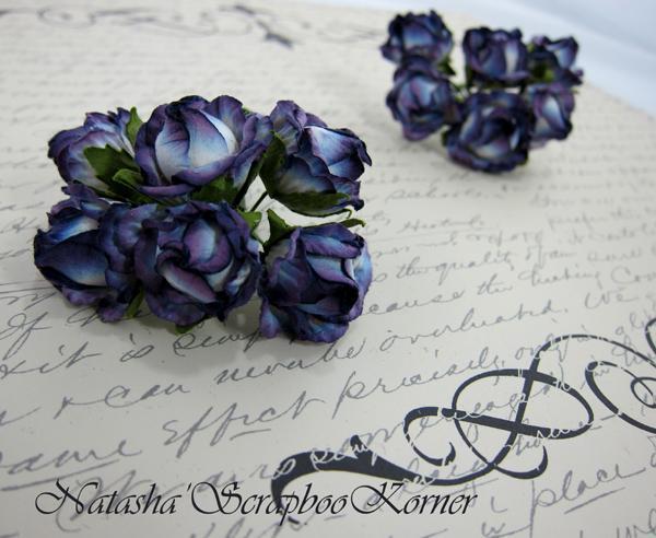 Prima Cabbage Roses - Lavender stl