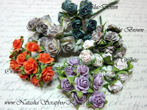 10 pcs Prima Mini Roses stl