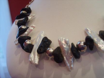 Ebony & Ivory Necklace