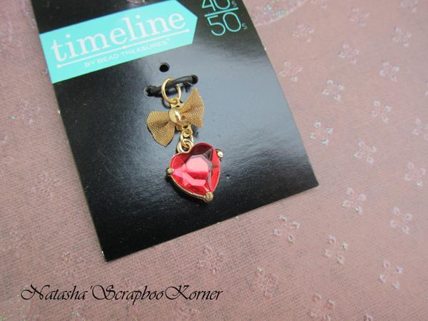 Red Heart Charm Pendant