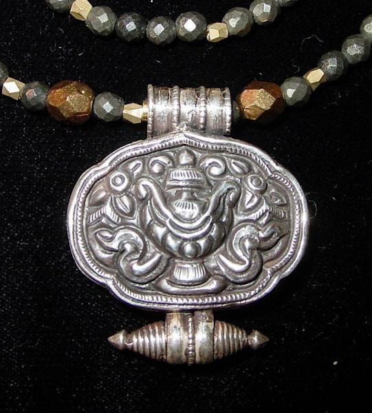 Treasure Vase Gau Pendant Nidhana Kumbha By Trishnajewelry On Zibbet