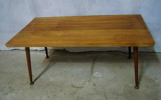 Vintage Mid Century Danish Modern By HarmonyGroveAntiques On Zibbet - Mid century oak coffee table