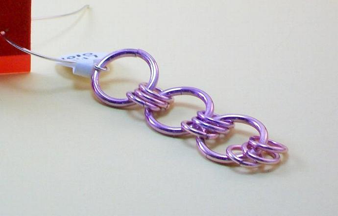 Lots of Pink Rings Earrings