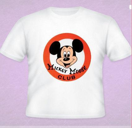 Mickey Mouse Club House Tee All Sizes Free Name Included
