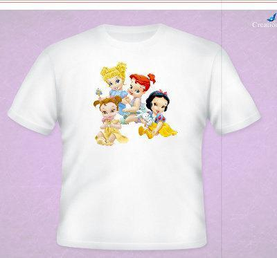 Disney Princess Babies Shirt All Sizes Free Name Included