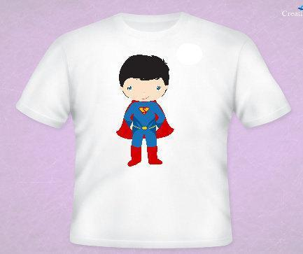 Superman Inspired Tee All Sizes Free Name Included