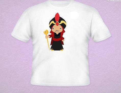 Jafar Inspired Tee All Sizes Free Name Included