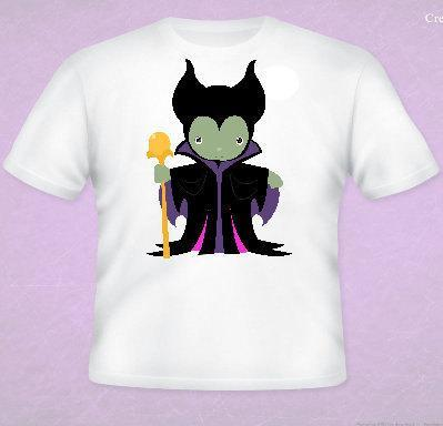 Maleificent Evil Queen Inspired Tee All Sizes Free Name Included