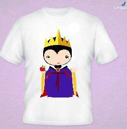 Snows Evil Queen Inspired Tee All Sizes Free Name Included
