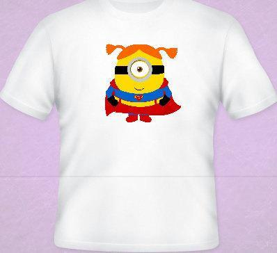 Duper Girl Minion Tee All Sizes Free Name Included Free name included