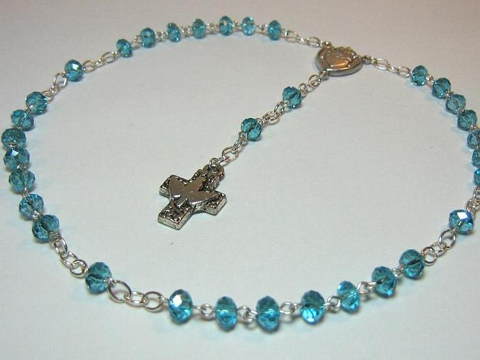 Protestant rosary March birthstone