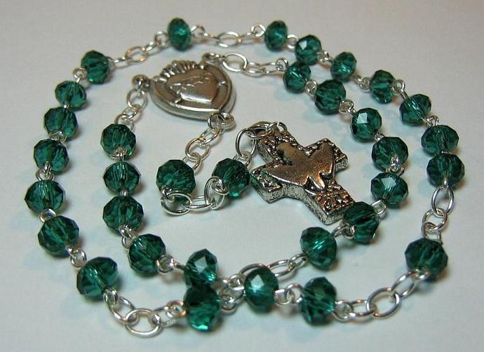 Protestant rosary May birthstone