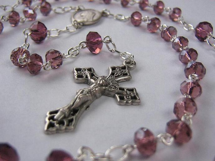 Catholic rosary February birthstone
