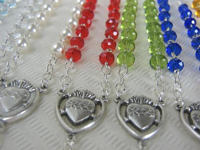 Protestant rosary April birthstone