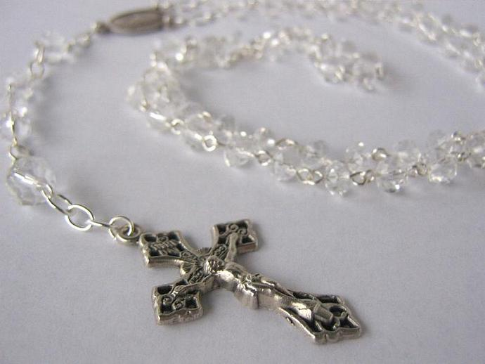 Catholic rosary April birthstone