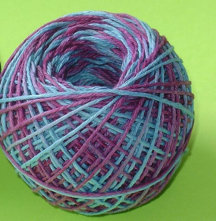 hemp ball / colorful twine / 200 feet