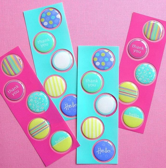 20 bubble epoxy stickers