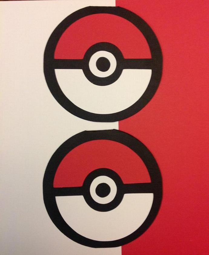 Poke Ball Invitation