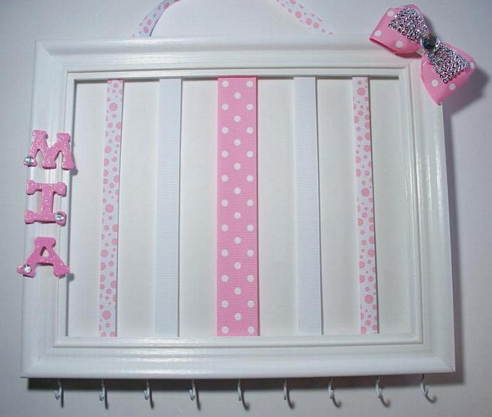 Personalized 11x14 Picture Frame Headband By Maggiemaydesigns On