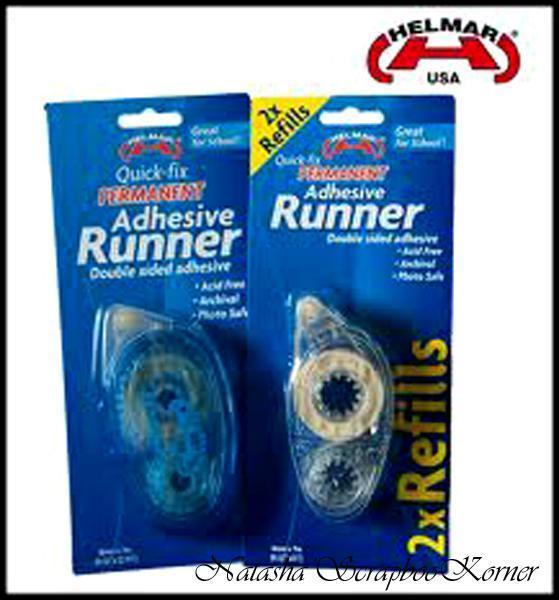 Helmar Quick-Fix Permanent Adhesive Runner