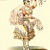 Party and Costume Ball Couture 1943 Antique French Pochoir Fashion Print