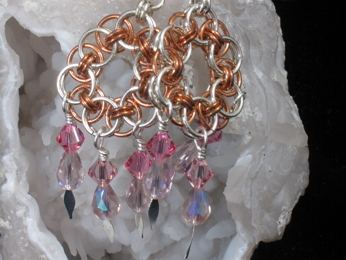 Siobhan Chainmaille Earrings