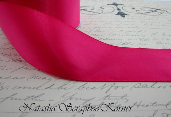 Double Face Satin Ribbon - Hot Pink
