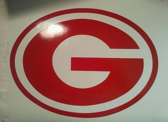 New  NCAA Georgia Bulldogs Cornhole Decals - Window Decals Ready To Apply 5 Year