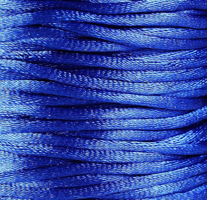 2mm Blue Nylon thread cord 10 feet (R011)