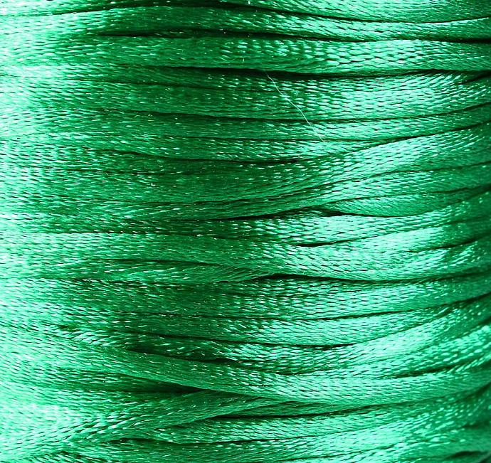 2mm Green Nylon thread cord 10 feet (R012)