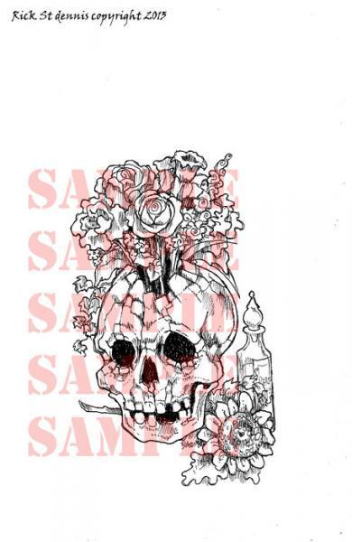 Parfum de Mort skull digi