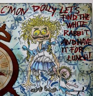 Lucy wants Dolly digi stamp