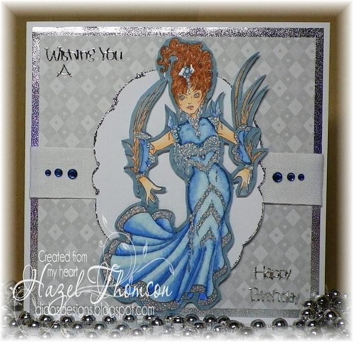 Miss Razz Matazz digi stamp