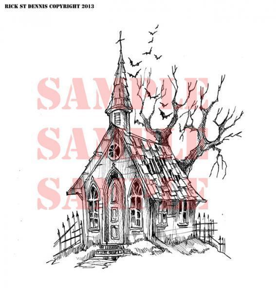 Ghost Town CHURCH 2013 Scene Digi
