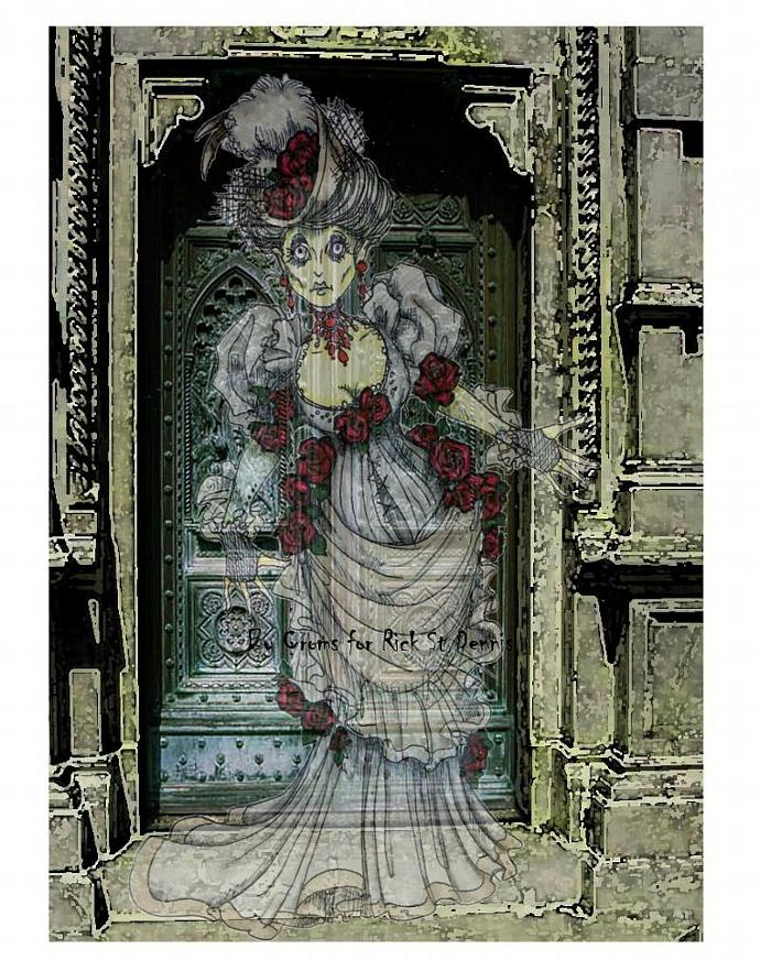 DRUSILLA the Covent Garden Ghost digi stamp