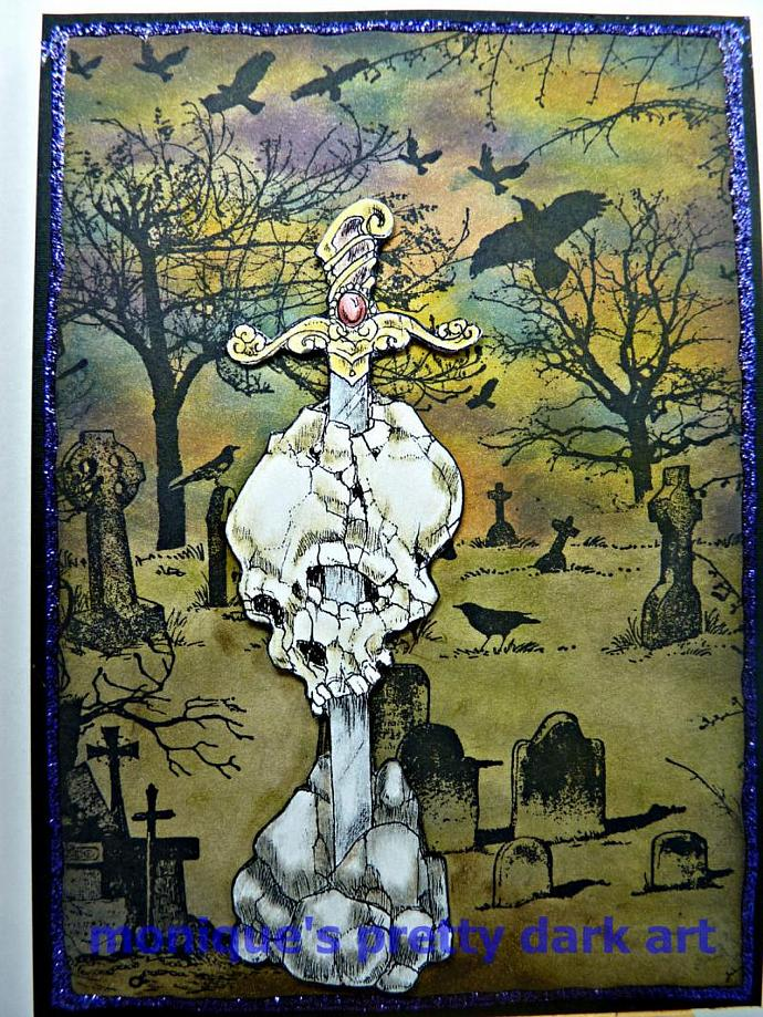 MONUMENT skulls digi