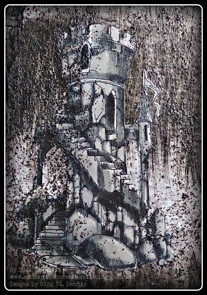 Haunted Castles Ghostly Tower 2013 Scene Digi