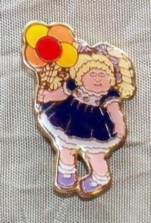 Vintage - Cabbage Patch Kid Pin 1980s