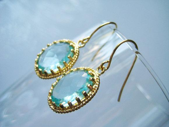 flower blue earring earrings jewelry gifts stone