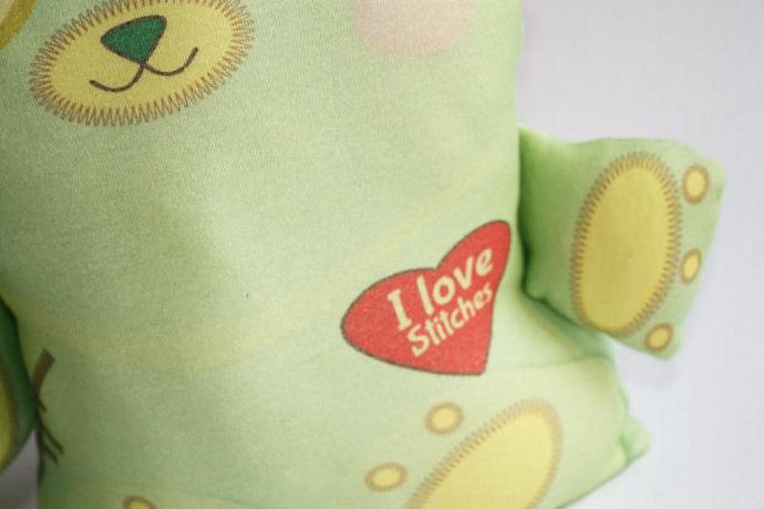 Halloween toy, Frankenstein toy bear, Organic cotton, Stuffed toy, baby toy,