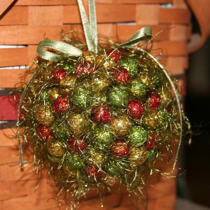 Whimsical Christmas Kissing Ball
