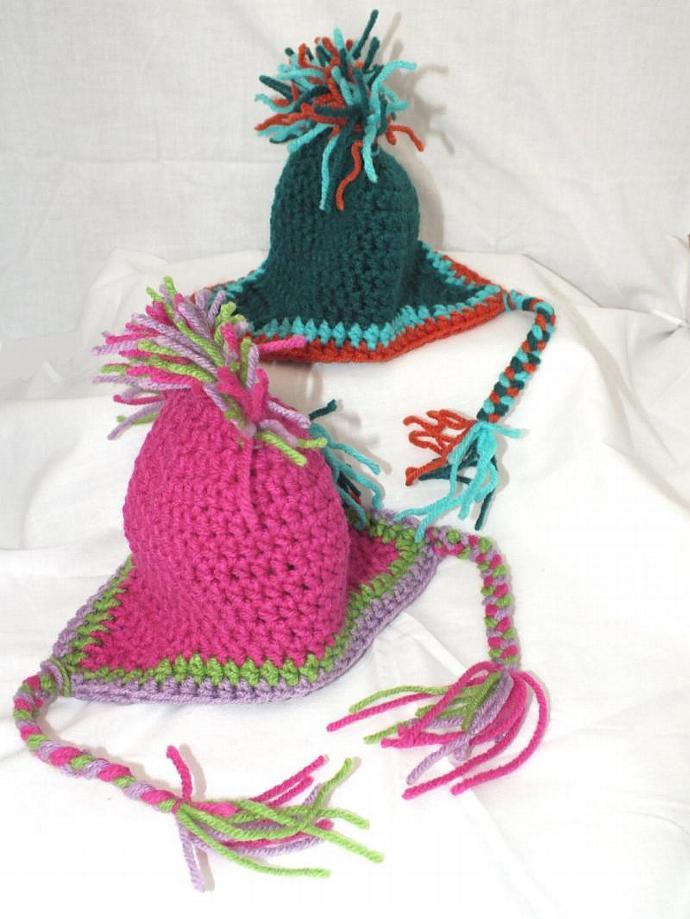 0-3 Month Mohawk hat