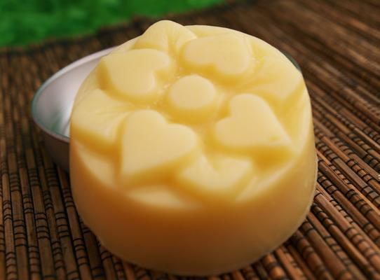 Peach Hard Lotion Bar