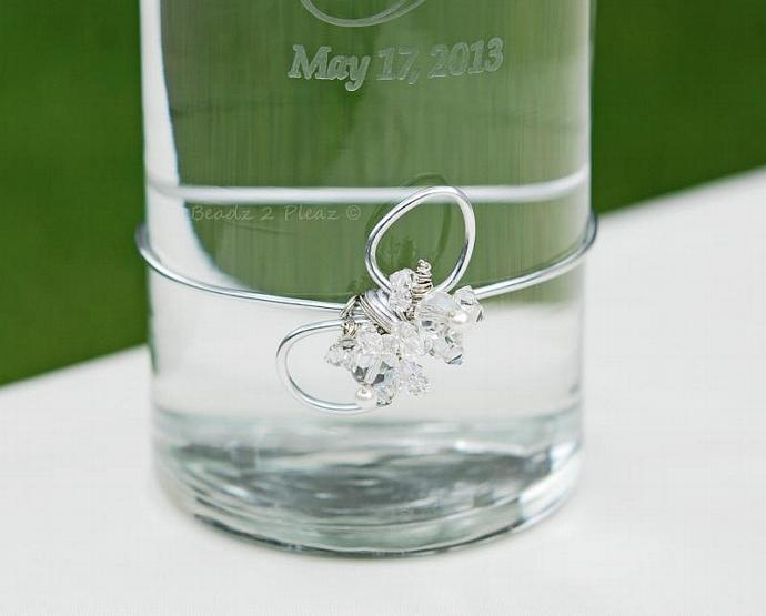 Floating Unity Candle Holder For Weddings, CUSTOM Made, PERSONALIZED, Modern