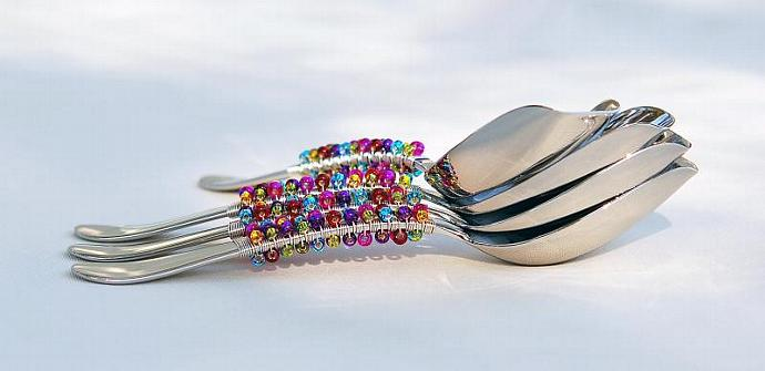 Quality Candy Scoop, Beaded Scoop, CANDY BUFFET Scoop