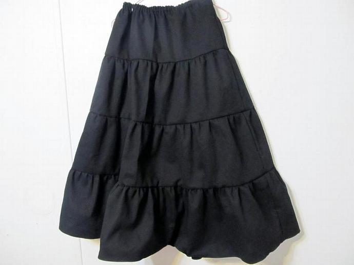 515fdf362b Black Twirly Skirt