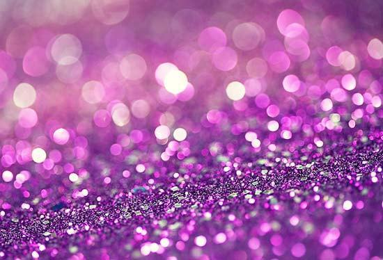 CLEARANCE Abstract Photography - 4x6 Postcard Shades of Purple glitter violet