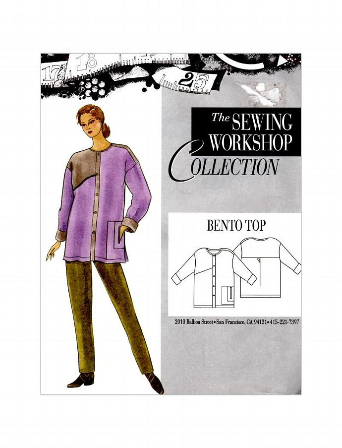 Bento Top Shirt Coat By The Sewing By Timelessmanepatterns On Zibbet