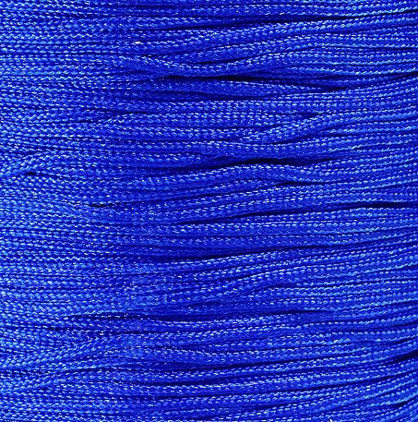 1mm Blue nylon cord twisted thread - 10 feet (924)