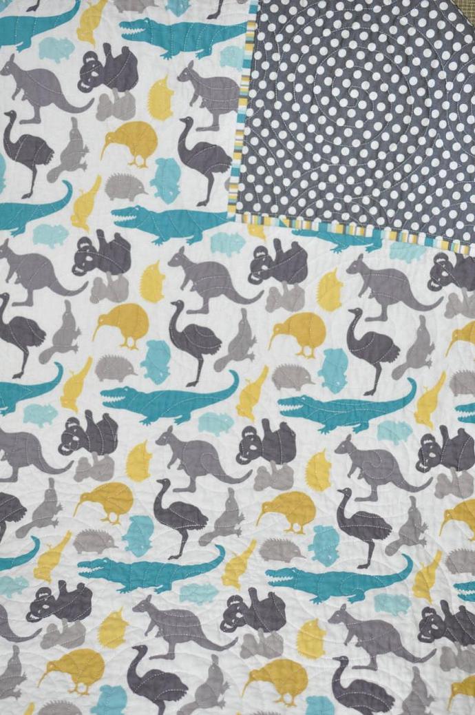 Modern baby fabric